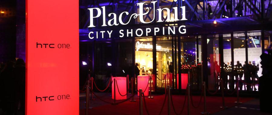 Marka HTC na otwarciu Plac Unii City Shopping
