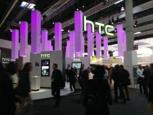 HTC branding on MWC 2014
