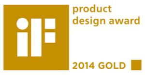 iF GOLD PRODUCT DESIGN AWARD 2014 dla HTC One - logo