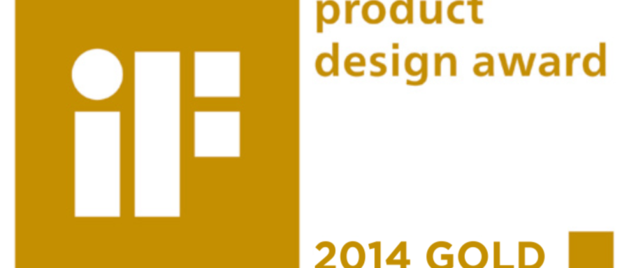 iF GOLD PRODUCT DESIGN AWARD 2014
